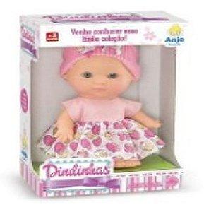 Boneca Dindinhas C/ Cheirinho 15 Cm - 129333