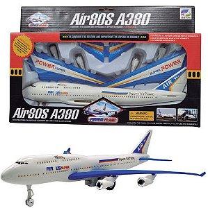 Brinquedo Avião Ultra Airbus Super  New