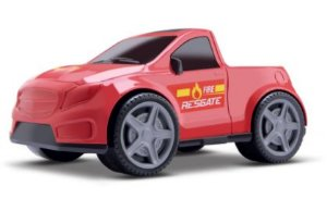 Brinquedo Pick Up Bombeiro Resgate Carrinho New