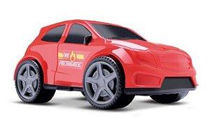 Brinquedo Carro Bombeiro Resgate Carrinho New