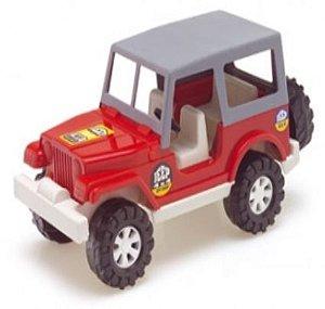 Jeep c/ Capota 22 Cm Carrinho Miniatura - 101898