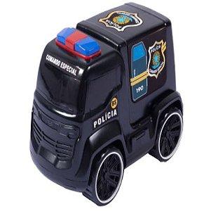 Carrinho de Policia 25 Cm Truck BS Toys - 126182