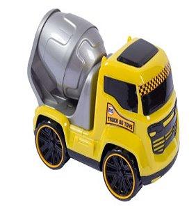 Caminhão Truck Betoneira 25 Cm Brinquedo - 126184
