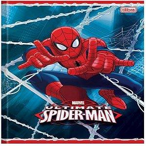 Kit 10 Cadernos Universitário Spider Man 60 Fls. New