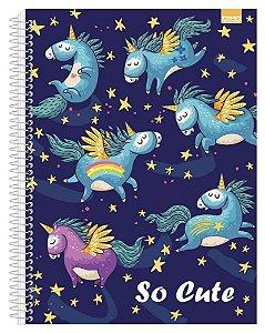 Caderno Universitário So Cute 1 96 Fls. New