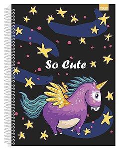 Caderno Universitário So Cute 2 - 96 Fls. New