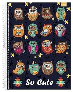 Caderno Universitário So Cute 4 - 96 Fls. New
