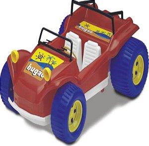Brinquedo Bugão Roda livre 38cm Carrinho New
