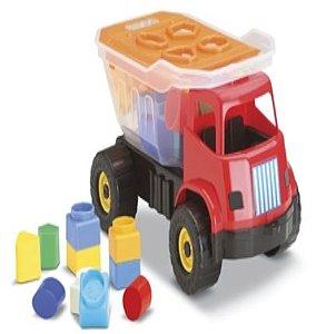 Brinquedo Caminhão Didático Dino New