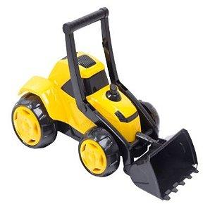 Brinquedo Trator Z3 Plast Color 30 Cm New