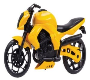 Brinquedo Moto Wind Fire 28cm Color New
