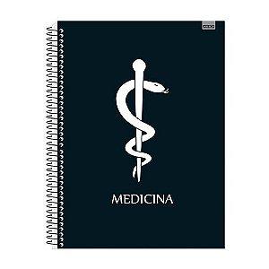 Caderno Universitário Medicina  1x1 96 fls. New