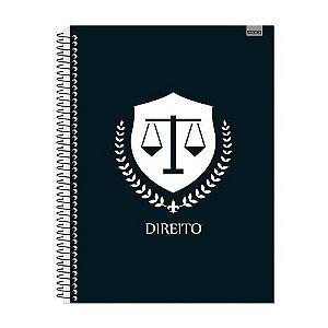 Caderno Universitário Direito  1x1 96 fls. New