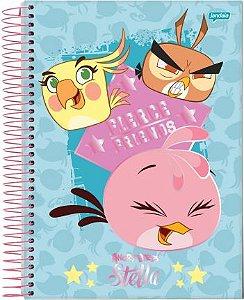 Caderno Espiral CD  Angry Birds 3 - 10X1 200  fls. New