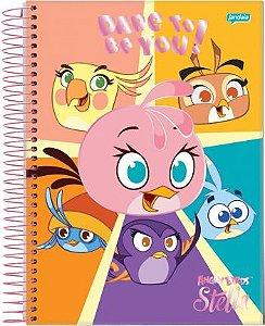 Caderno Espiral CD  Angry Birds 2 - 10X1 200  fls. New