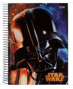 Caderno Universitário Espiral Star Wars 96 fls.  New