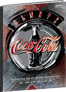 Caderno Universitário Coca Cola 3 - 96 fls.  New