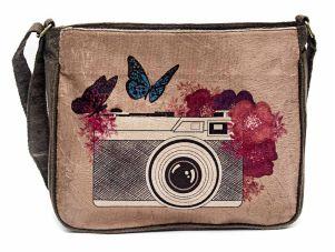 Bolsa Capanga Câmera Designer 8ª Arte Fotografia