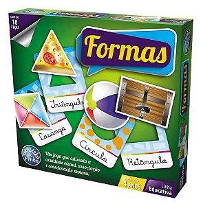 Jogo Brincar de Aprender Formas New
