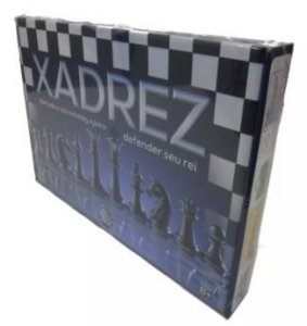 Jogo Xadrez na Caixa New