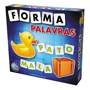 Forma Palavras Jogo Educativo Alfabetização Pais e Filhos