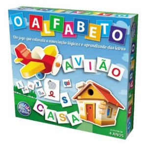 Alfabeto Jogo Educativo Estimula Crianças a Aprender - 22852