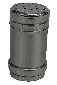 Kit c/ 3 - Saleiro / Pimenteiro Metal 8 Cm Luxo
