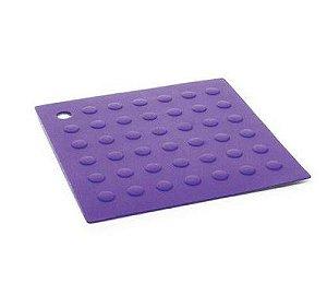Descanso de Panela Silicone Quadrado 16,5 Cm - 129342