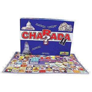 Jogo Charada II C/ Tabuleiro Fichas e Cartas New