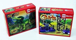 Brinquedo Blocks P/Montar Divs DM BRASIL New