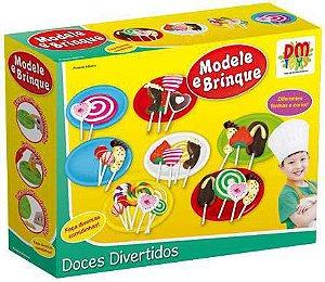 Kit Massinha Modele e Brinque Doces New