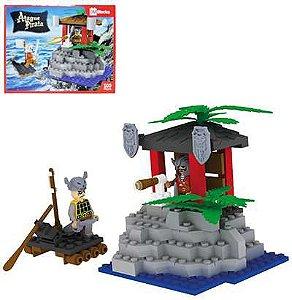 Brinquedo Blocks Ataque Pirata New