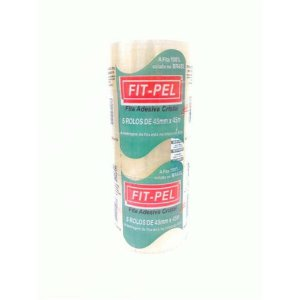 Kit c/ 5 Fita Adesiva PVC Fit-Pel Self a Tape Cristal - 24029