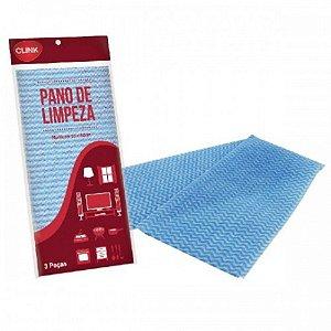 Kit c/ 15 Flanelas Multiuso Limpeza 30x60 Cm - 119451
