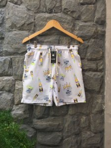 Beach Short Branco Corona