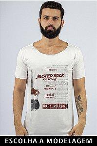 Camiseta Branca Busted Rock Festival
