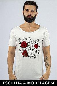Camiseta Branca Bang Bang