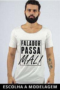 Camiseta Branca Falador Passa Mal