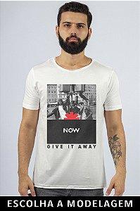 Camiseta Branca Now