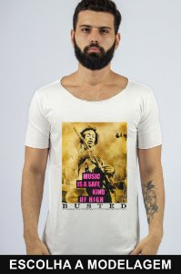 Camiseta Branca Safe High