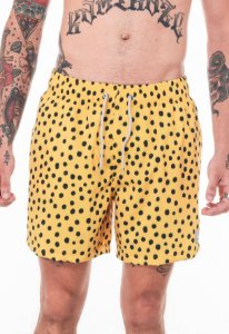 Beach Short Amarelo Black Balls