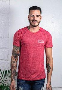 Camiseta Tradicional Nature Vermelha Faça Sexo!