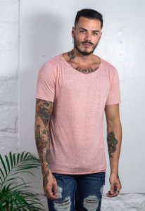 Camiseta Canoa Nature Rosa