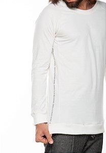 Camiseta Manga Longa Raglan Hive Off-White