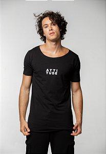 Camiseta Canoa Preta ATTI TUDE