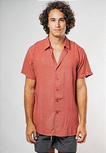 Camisa de Botão Essence Telha