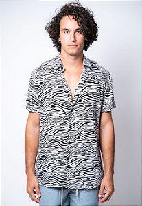Camisa de Botão Zebra