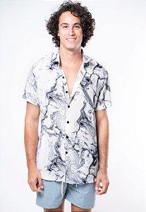 Camisa de Botão Mármore