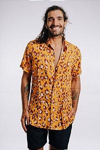 Camisa de Botão Onça Pintada