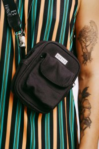 Shoulder Bag Moletom Chumbo